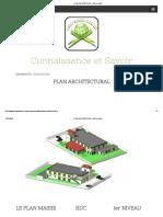 PLAN ARCHITECTURAL - Site de testkb !