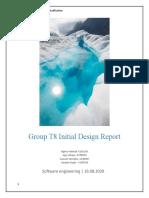 Group T8 Initial Design- Report