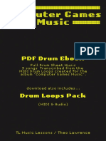 TL Music Lessons - Computer Games Music - Ebook - Computer Games Music - Drum Sheet Music.pdf