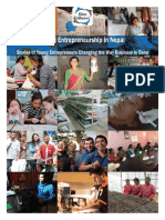 Social Entrepreneurship in Nepal