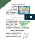 Tradición y patrimonios culturales los departamentos de Guatemala