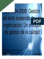 ISO 9004 2009 Gestión del Éxito Sostenido de una Organización.pdf