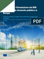 Manuale per l'introduzione del BIM da parte della domanda pubblica in Europa