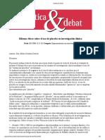 bioetica & debat dilemas eticos
