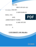 CASE STUDYmarketing