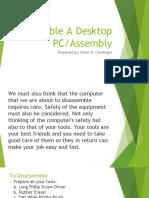 Assemble A Desktop PC