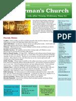 st germans newsletter - 23 august 2020  trinity 11  ot21