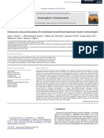 Emissions characterization of residential wood-fired hydronic heater technologies