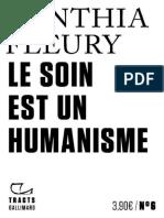 Cynthia Fleury – Le soin est un humanisme (2019)
