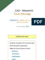 Chap 6 Règles de tracé des pièces moulées - 2020.pdf