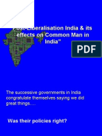 Post-Liberalisation India & Its Effects on Common_Man