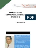 DR dr Sutoto MKes - TIP dan STRATEGI SNARS ED 1.pptx
