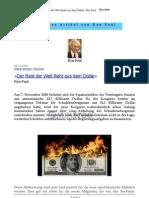 Der Rest Der Welt Flieht Aus Dem Dollar Ron Paul