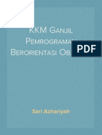 KKM Ganjil Pemrograman Berorientasi Objek XI