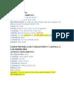 APUNTES DE LA BIBLIA 2019.