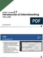 1.4 TCP y UDP