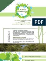 Water Retention Landscape