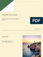 Hidrología-Unidad 1