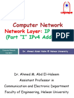 CN01-Network layer(IP protocol part1)