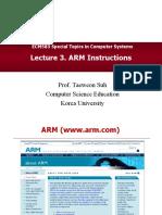 STCS-Lec3-ARM-Instructions