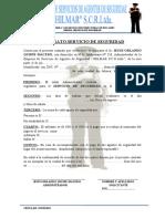 CONTRATO SERVICIO DE SEGURIDAD