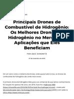 Os melhores drones de hidrogênio do mercado + as aplicações que eles beneficiam