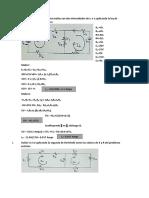 Solución de circuitos de dos mallas con dos intensidades de I1 e I2 aplicando la ley de Kirchhoff o de las tensiones