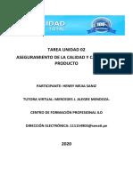 FORMATO DE TAREA