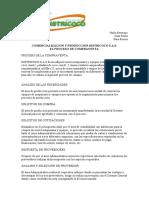 Proceso de compraventa Districoco S.A.S