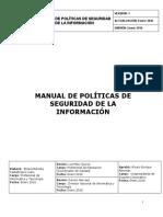 manual de politicas de seguridad de la informacion vf0