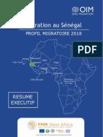Resume Executif - Profil Migratoire du Senegal