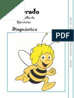 2do Grado - Cuadernillo de Ejercicios (Diagnóstico)