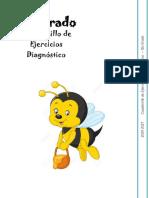 5to Grado - Cuadernillo de Ejercicios (Diagnóstico)