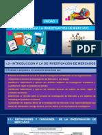 UNIDAD I INTRODUCCION A LA INVESTIGACION DE MERCADOS-1