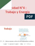 Fisica I Unidades 4 Trabajo y Energia