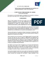 ACUERDO 2296 DE 2020 REGLAMENTO DE CESANTIAS