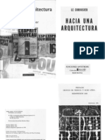 Hacia una Arquitectura. Le Curbosier