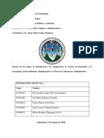 La Jurisdicción y la Competencia, la Acción, la Pretensión y la Excepción; el Procedimiento Administrativo y el Proceso Contencioso Administrativo