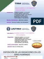 Biofisica  - Grupo 5 - Radiaciones y Accidente Nucleares