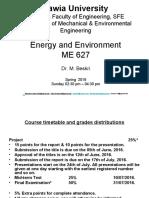 1-ME 627 - Energy & Environment- SFE-Spring 2016.ppt