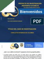CONFLICTO INTERNO DE COLOMBIA