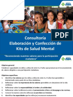 KITS DE SALUD MENTAL