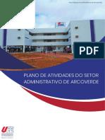 PLANO DE ATIVIDADES DO SETOR ARCOVERDE