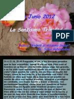 Lecturas Domingo de la Santisima Trinidad