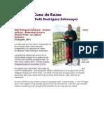 América cuna de razas (entrevista a Ruth Rodríguez Sotomayor, jun-11)