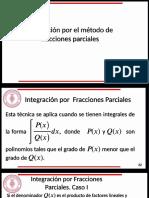 MÉTODOS DE INTEGRACIÓN POR FRACCIONES PARCIALES, RETROALIMENTACIÓN.