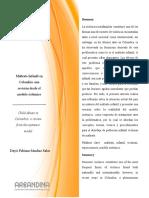 Maltrato Infantil en Colombia, una revision desde el modelo sistemico