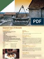 Gourmet Tour of Slovenia - April2011