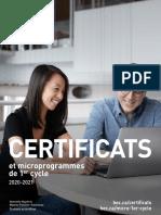 Brochure – Certificats HEC Montréal