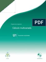 Unidad1.Funcionesvectoriales